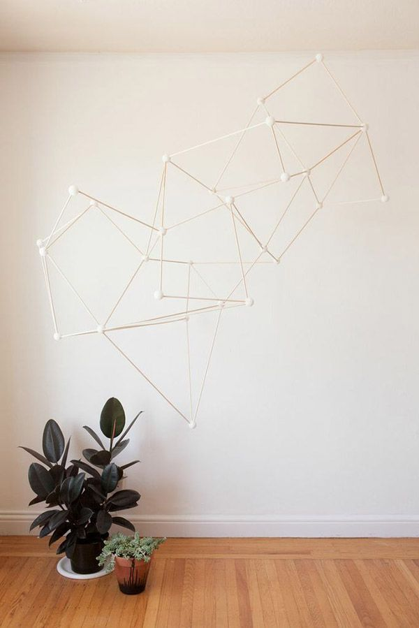 Geometric Party Installation