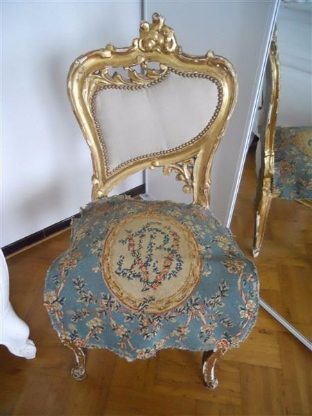 SECOND AUBUSSON  TAPESTRY ANTIQUE FRENCH 18TH-CENTURY   CHATEAU WINE BORDEAUX