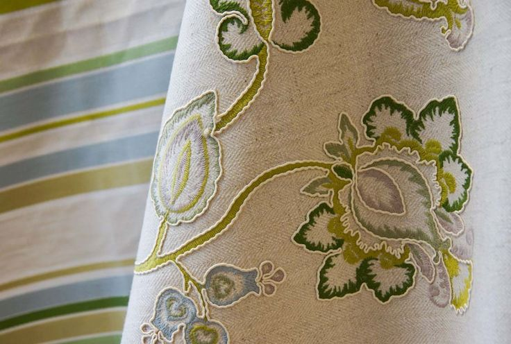 Prestigious Textiles Olive Living.