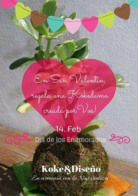 ▼▼▼ Seminario de Kokedamas en VILLA URQUIZA ▼▼▼ Kokedama en Armonia con la Naturaleza Sábado 13 de Febrero de 10 a 13hs En San Valentín regala una kokedama creada por vos  No son necesarios conocimientos de Jardinería  ❁ ✿ ❀ Son plantas que no necesitan maceta ❀ ✿ ❁ kokedama@live.com o 155-724-7904