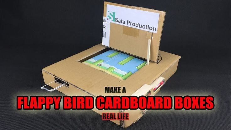How To Make Flappy Bird Using Cardboard ✅ DIY from Cardboard Boxes - Real Life Flappy Bird https://medium.com/@padmaaccessorieslimited/how-to-make-flappy-bird-using-cardboard-diy-from-cardboard-boxes-real-life-flappy-bird-8cbfbe7ad1b6