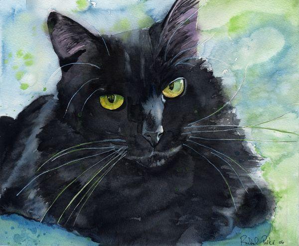 Sadie Sweet, chats noirs dans l'art