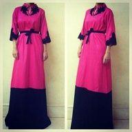 #abaya #rose #pink http://www.photohijab.com/