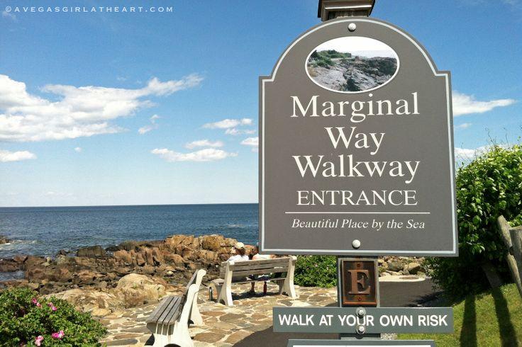 Marginal Way Ogunquit Maine