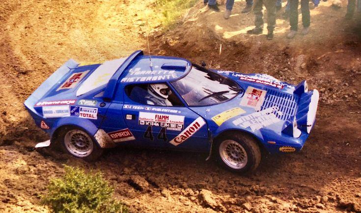 Lancia Stratos Valentino Tesi Elba 1982