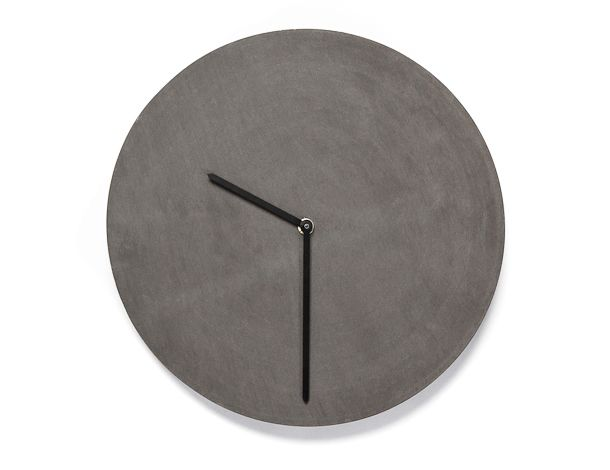TEMPUS 32 designed by URBI ET ORBI made in Greece as part of Home Accessories and Home Decor and Clocks tagged Concrete Clocks and Concrete Home Accessories and Handmade clocks and Minimalist interior design and Simple & Clean designs - image 1 on CROWDYHOSUE