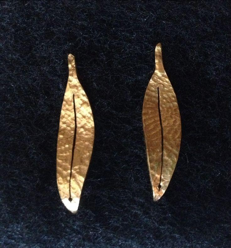 Aretas Eucalipto - baño en oro $30000
