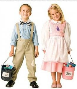 Jack and Jill costume... For adults too? @Jenna Quick , I will be Jack and you can be Jill