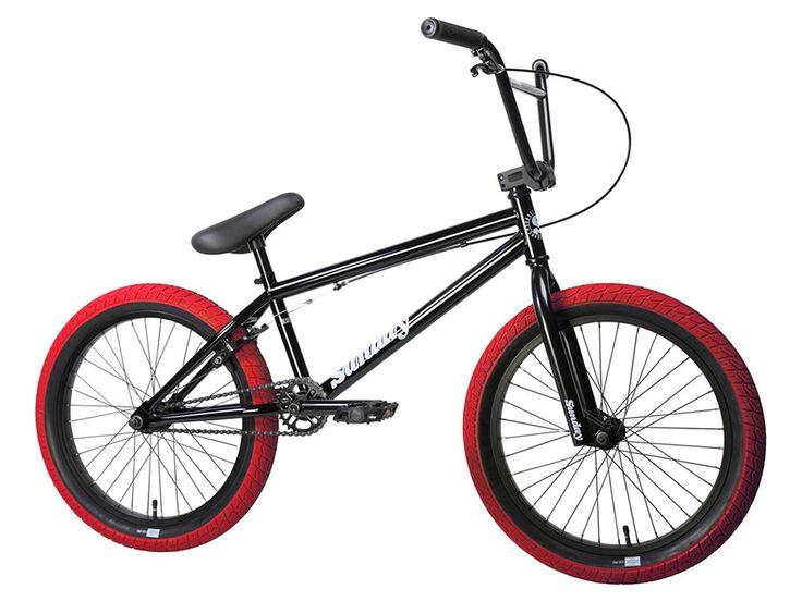"Sunday Bikes ""Blueprint"" 2017 BMX Bike - Black/Red | kunstform BMX Shop & Mailorder - worldwide shipping"