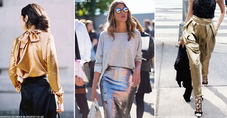 Look We Love: Metallic Pieces On The High Street | sheerluxe.com