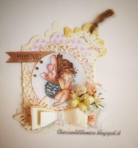 chicca craft e i little mice: Angel Edna