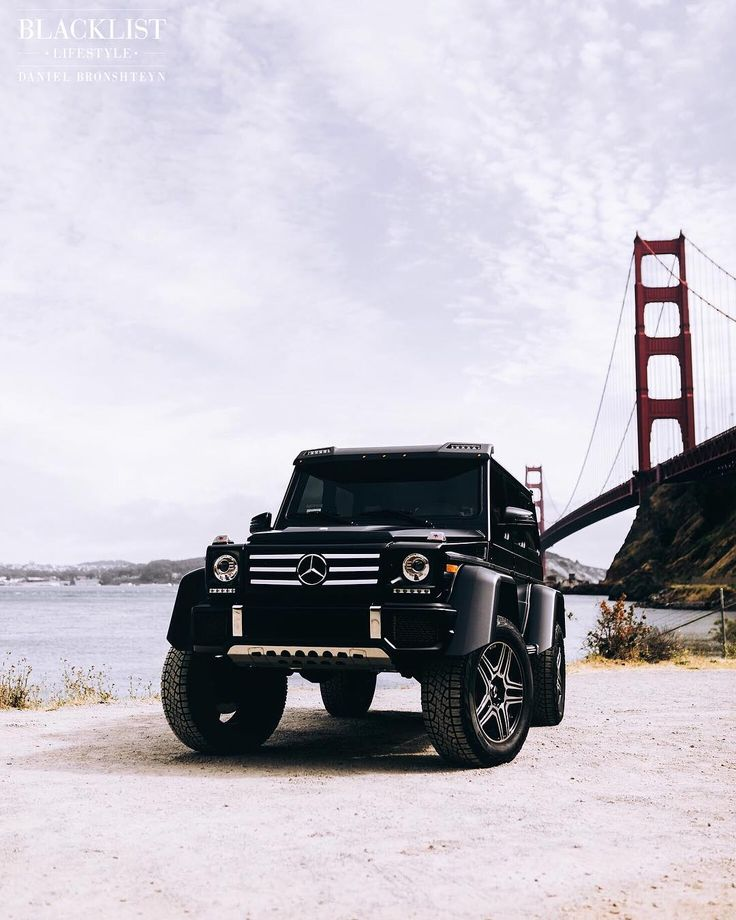 Golden Gate | Photo by @guywithacamera415 | #blacklist #mercedes #g500 #squared
