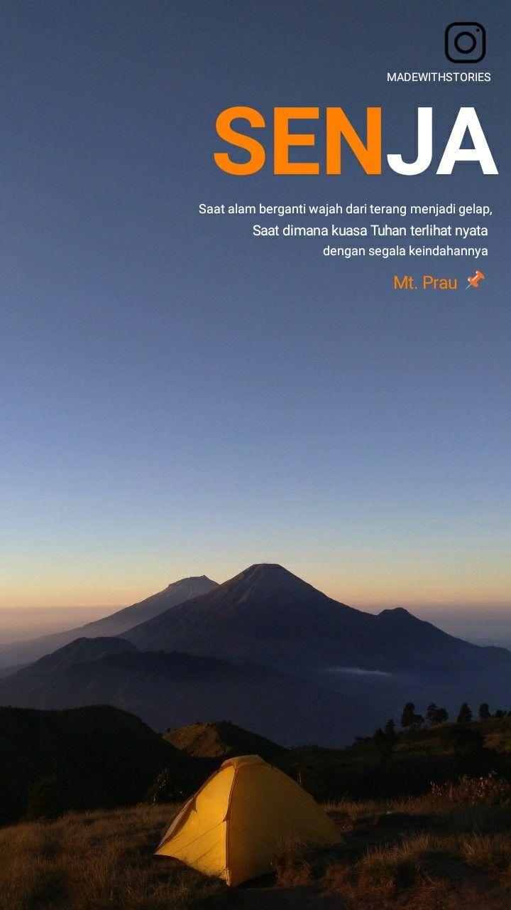 Senja Di Gunung Prau Dengan Gambar Kutipan Persahabatan