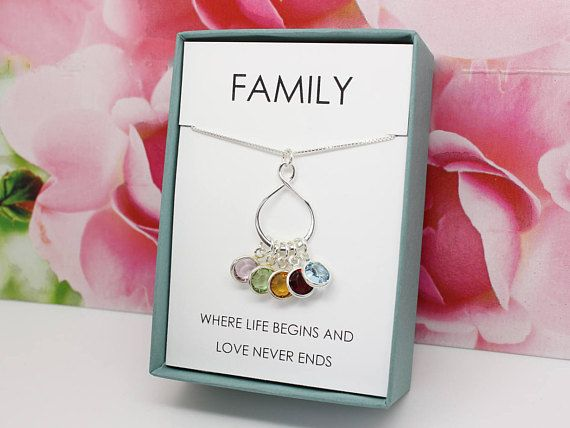 Mother's Day Gift for Wife gift 925 sterling silver Family