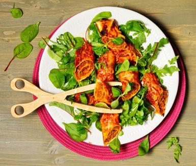 Enchiladas med köttfärs