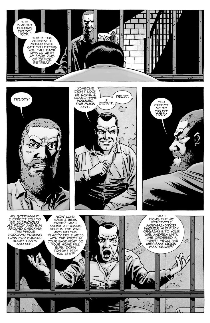 The Walking Dead Issue #141 - Read The Walking Dead Issue #141 comic online in high quality