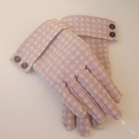 FREE Vintage Style Gloves Sewing Pattern and Tutorial  @lucygleds