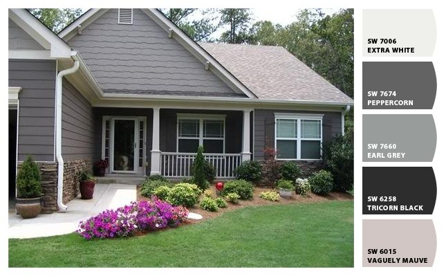Sw 7674 Peppercorn Love The Color Exterior Paint