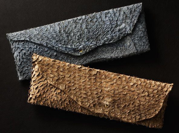 Who knew that fish skin could be so utterly gorgeous?! Just imagine the possibilites for designers. Now a purse, tomorrow...? Via NYTimes.com
