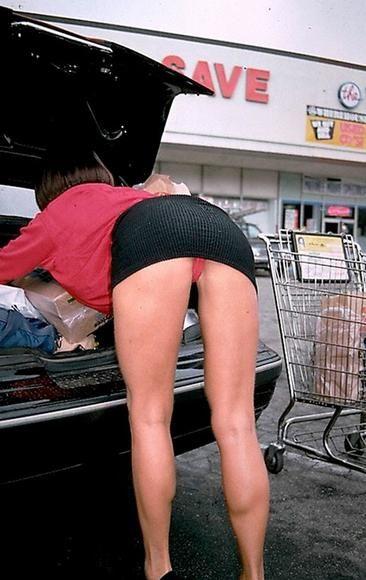 short plaid skirt oops