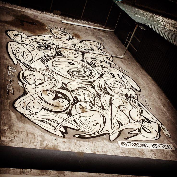Urban art everywhere! #TheHighline