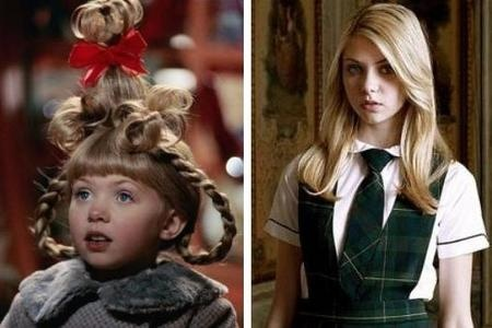 Then and now Taylor Momsen  Little Cindy Lou Who to Jenny Humphrey