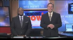 During WIS News 10 at Noon today, Len Kiese and Ben Tanner can't stop laughing over video of a dog walking in his hind legs.