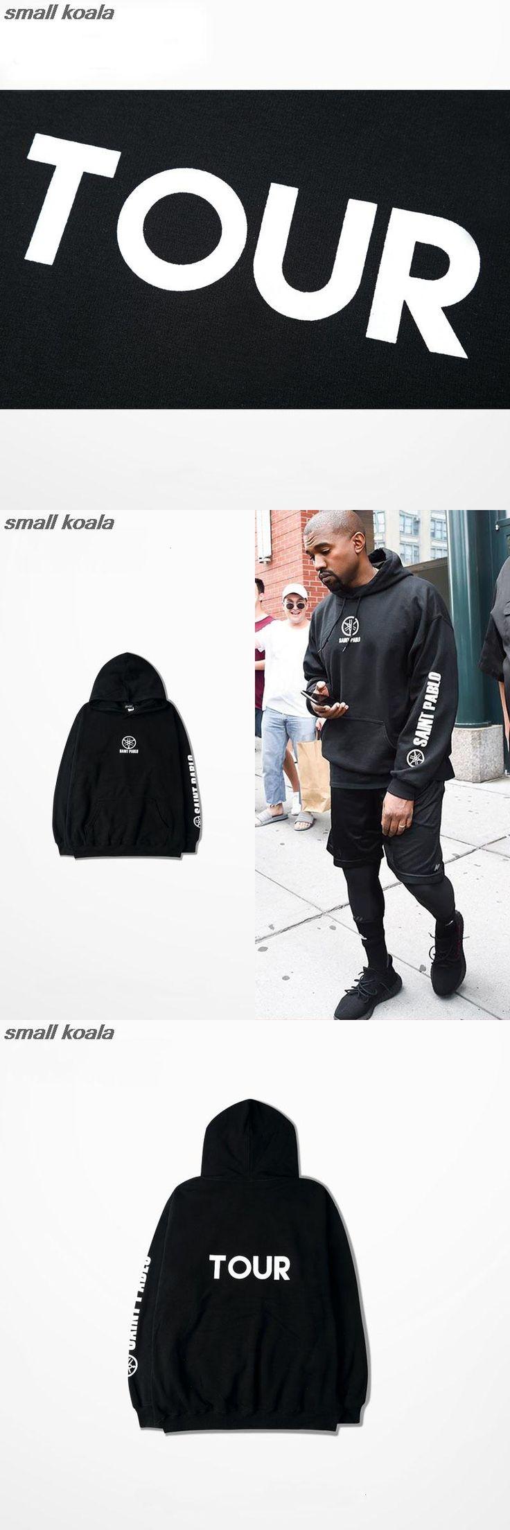 hoodie men hip hop for big man tracksuit Kanye west tour  season 3 clothing camiseta saint pablo sweatshirts