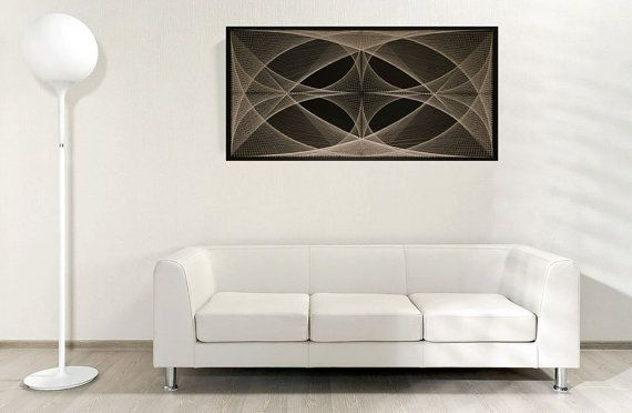 PLASMA / 3D TV of a new generation string art von MagicLineStore