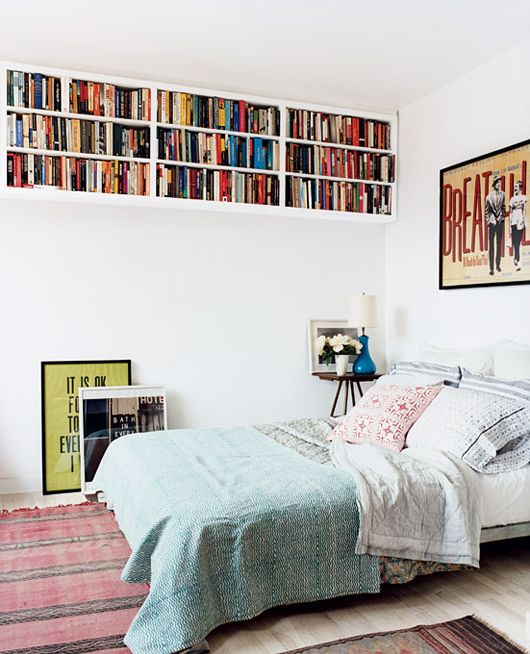 High bookshelves