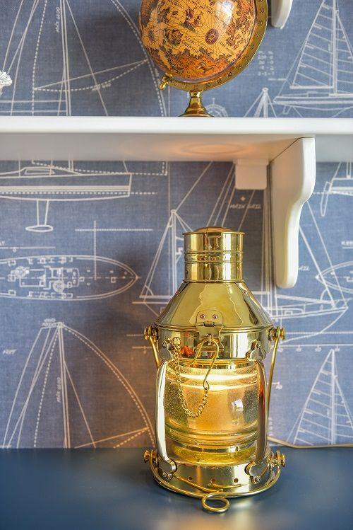 Marine themed kids room |KiwiStudio | Design contemporan si New Scandinavian pentru apartament mare
