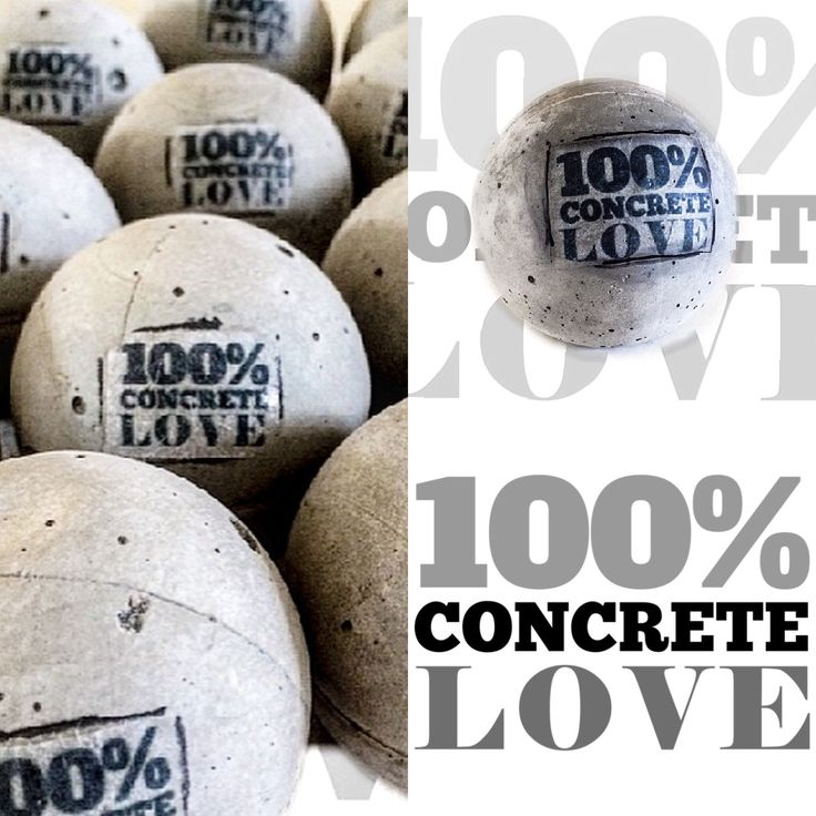 100% concrete love By DaisyBogaards