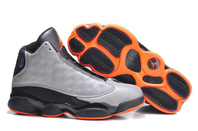 Authentic Air Jordan 13 Retro 3M Reflective Reflective Silver Infrared 23-Black For Sale