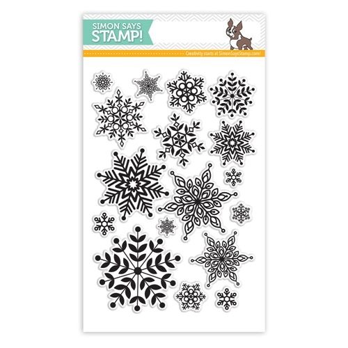 Simon Says Clear Stamps LOTS OF SNOWFLAKES sss101443