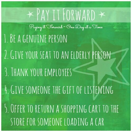 45 Beautiful Ideas to Pay It Forward