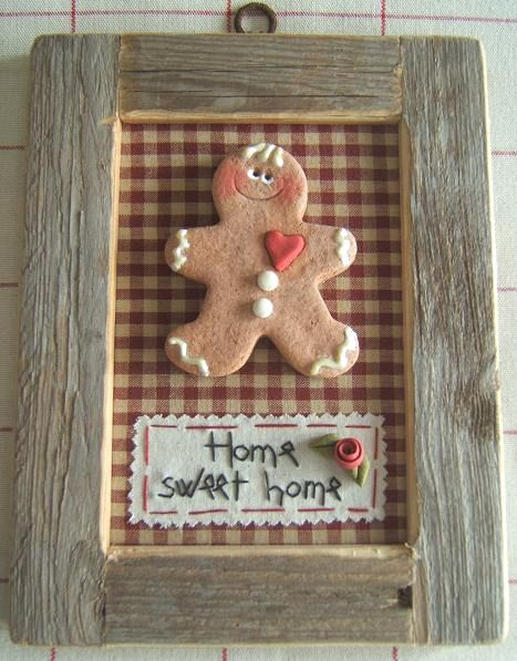 use gingerbreadman as ornament