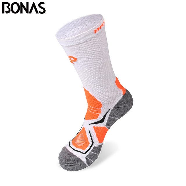 Bonas 6 Pair/Lot Athletics Short Socks Women CoolMax Polyester Long Nylon Socks Colorful Cotton Socks Casual Thermal Hike Socks