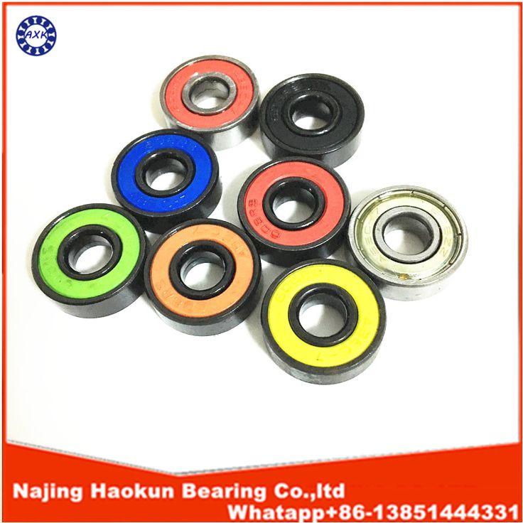 Envío Gratis 50 UNIDS 608-2RS Rodamientos de Skate 8x22x7 Rodamientos de Bolas Radiales 608 RS