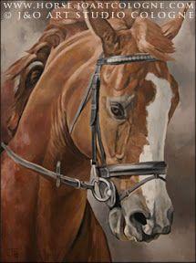Horse art | Pferde gemalt