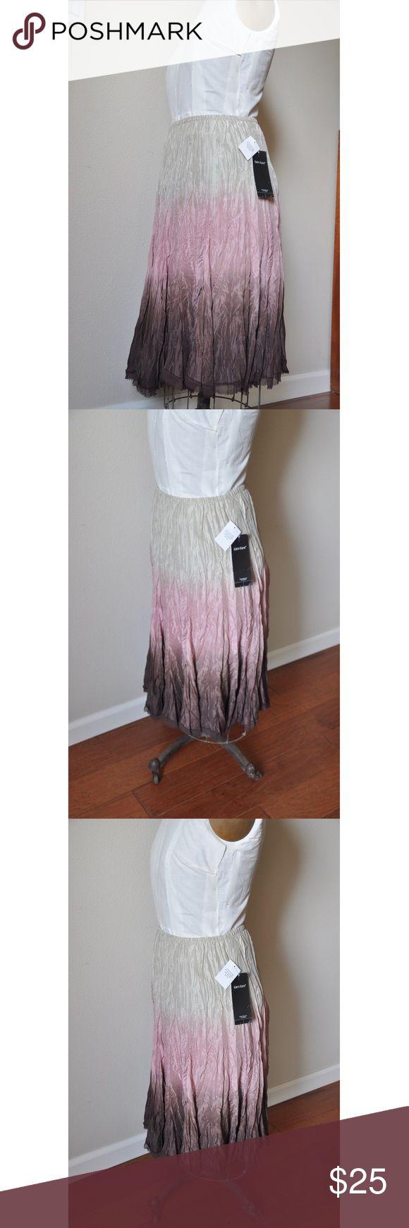 Karen Kane Earth Angel Skirt  >>BRAND NEW<< Boho style Karen Kane Earth Angel skirt. Hand dip dyed garment makes this a very unique skirt. 100% silk. New with tags. Karen Kane Skirts Midi