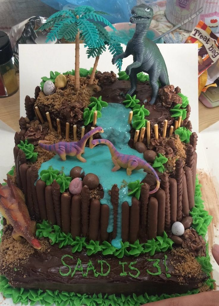 Homemade Dinosaur Birthday Cake Birthday Cake Dinosaur Homemade Geburtstagskuchen Fur Jungen Kuchen Kindergeburtstag Kindergeburtstag Rezepte
