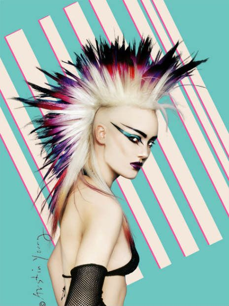 80 s punk rock hair and makeup mugeek vidalondon