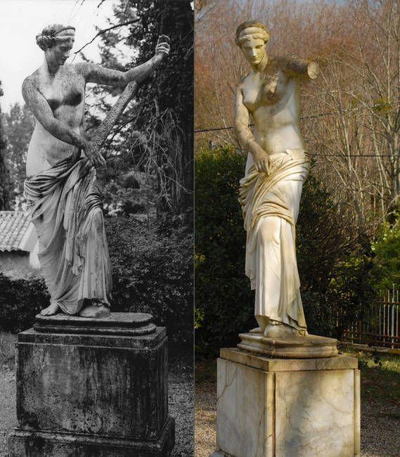 Aphrodite de Capoue.  Parc Chavat. Podensac. Aquitaine