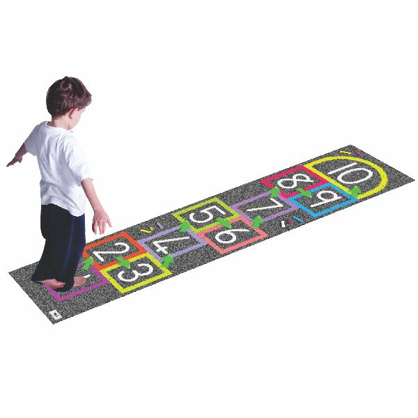 Numbers Hopping Mat  Children love to move. Learn how to harness that energy and turn it into enthusiasm for acquiring number concepts, including skip, counting, addition, subtraction, multiplication, division and others.