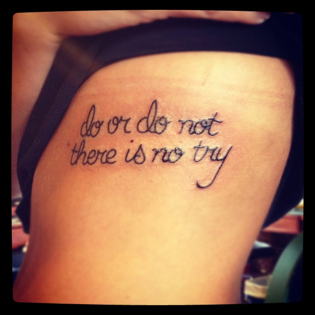 New Tattoos Quote