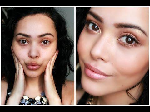 Maquillaje bronceado para el verano Lilia Cortes - YouTube