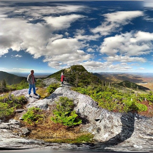 Feeling on top of the world @ Jay Peak Resort #hiking