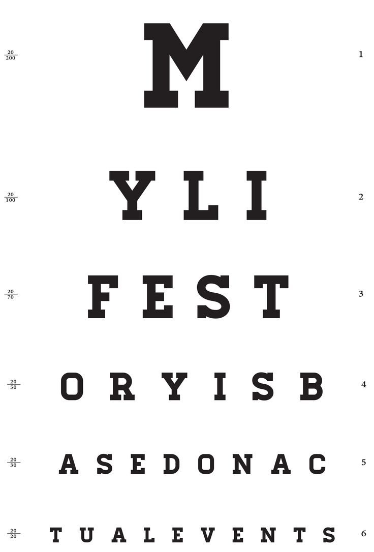 Test your eyes!