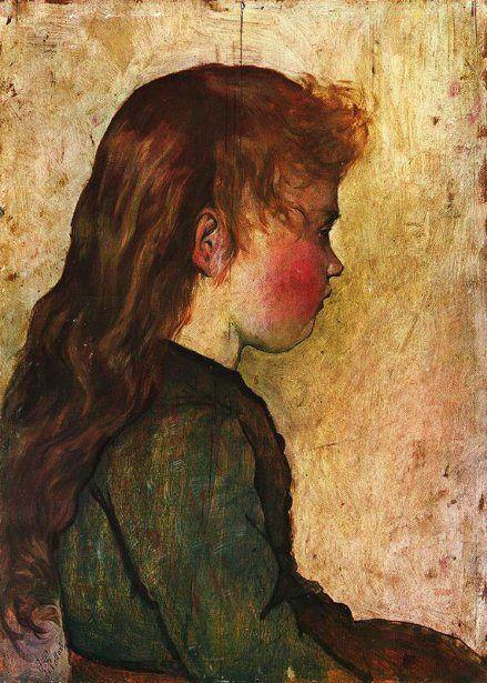 Gotine Rosse   Giovanni Fattori (1825 – 1908, Italian)