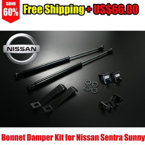 Bonnet Hood Strut Shock Damper Kit for Nissan Sentra Sunny B13 Tsuru V16 91-94 – Autobahn88 – DAMP-N32-Free Shipping